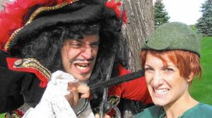 """""""Peter Pan and the Pirates"""" will be performed by the AlphaBet Soup theatre troupe at Theater at the Center April 6-12. (AlphaBet Soup, Handout)"""