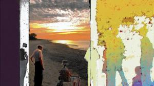 Depot Fridays will be featuring artists the second Friday of every month throughout the summer, such as Sunset Different Shores — Archival Computer Print by Bob Stanley. (Beverly Shores Museum and Art Gallery, Handout)