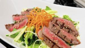 Can't do fish or shellfish? Shakou Sushi on Main Street in St. Charles has a wide variety of non-aquatic offerings like the chopsteak salad, a pan-seared filet mignonette with a citrus pozu sauce on top of spring greens with a sesame dressing.